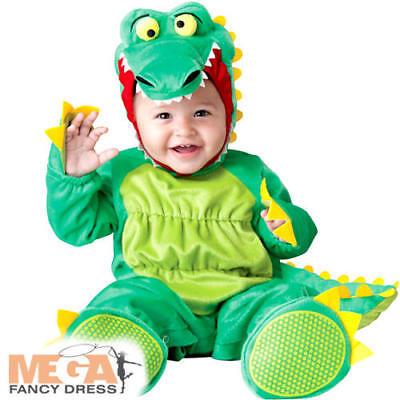Alligator Baby 6-24 Months Fancy Dress Animal Crocodile Toddler Infant - Crocodile Toddler Costume