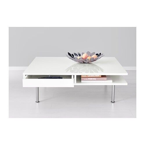 3 X White High Gloss Ikea Pieces Tofteryd Coffee Table Tv Stand