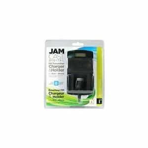 JAM CAST - FM Transmitter with LCD Display - iPod iPhone