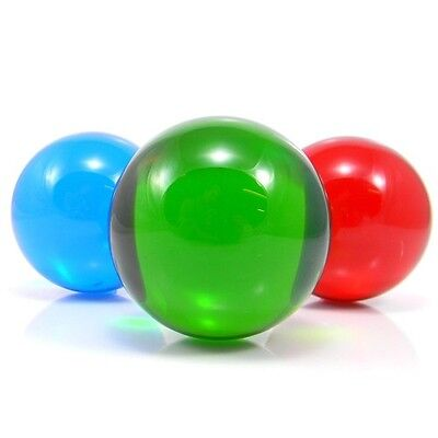Coloured Acrylic Contact Juggling Ball - 75mm Contact Ball - Choice of Colours