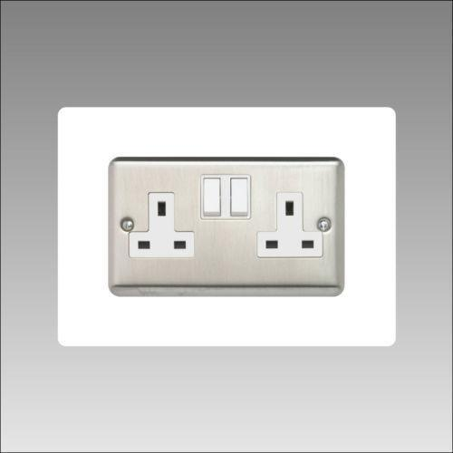 Double Socket Cover: Electrical Fittings