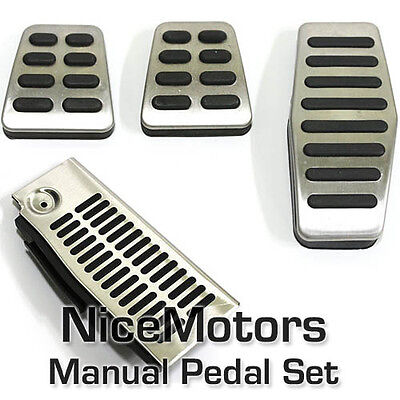Footrest Accelerator Brake Clutch Pad for 2002-2009 Hyundai Tiburon Coupe Manual