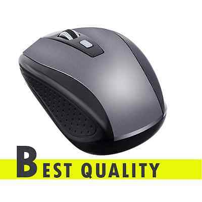 Without Wire Slim Light Wireless Optical Mouse USB Receiver For Laptop PC Best