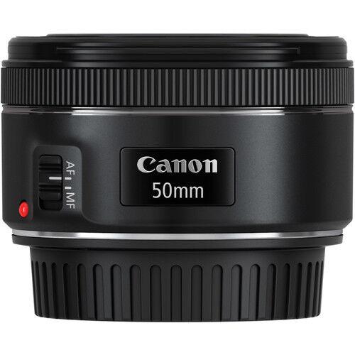Canon EF 50mm f/1.8 STM Standard Autofocus Lens for EOS Rebel Cameras BRAND NEW