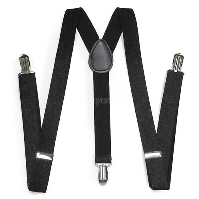 Black Glitter Sparkle Suspender for Adults Men Women Teens Wedding Formal (USA) - Sparkle Suspenders