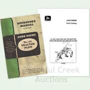 John Deere Manual Lot