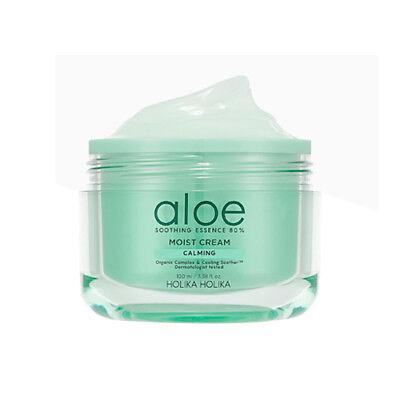 [Holika Holika] Aloe Soothing Essence 80% Moist Cream - 100ml
