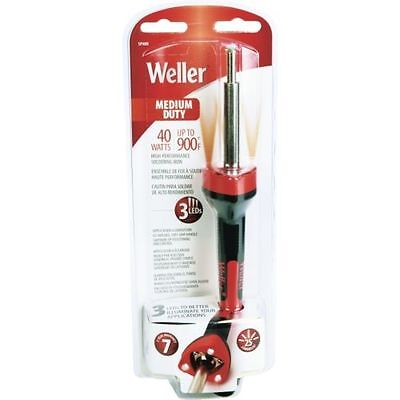 NEW WELLER SP40NUS LED MEDIUM DUTY SOLDERING IRON GUN KIT 40W 120V 6854285