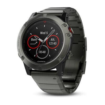 Garmin fenix 5 Sapphire Multisport GPS Watch Slate Gray with Metal Band