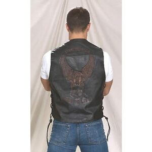 Mens Live To Ride & Ride To Live Vest