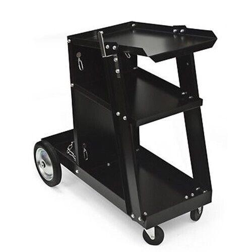 Metal Rolling Mobile Steel Arc Mig Welder Welding Tool Tank Shop Rack Cart