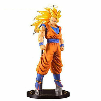 "Dragon Ball Z Super Saiyan 3  Son Gokou 11"" Statue Toy Figure Japanese Anime USA"