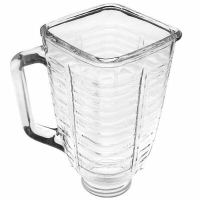 5 Cup Even Top Glass Blender Replacement Jar for Oster & Osterizer