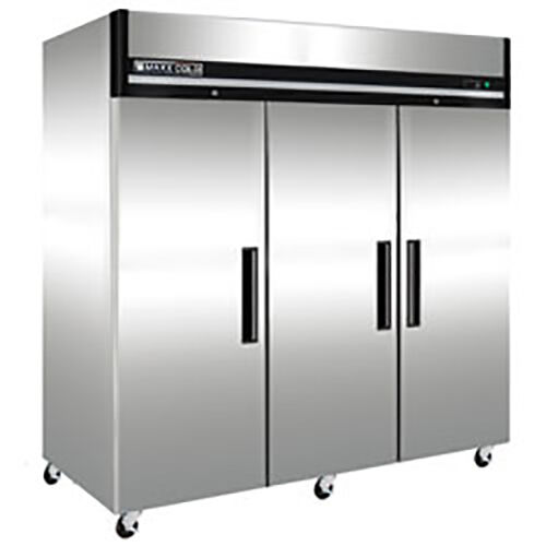 New Maxx Cold Mxcf-72fd Triple 3 Door Commercial Reach In Freezer ( X-series )