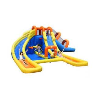 Happy Hop Outdoor Mini Water Park Inflatable Slide Play Set Lidcombe Auburn Area Preview