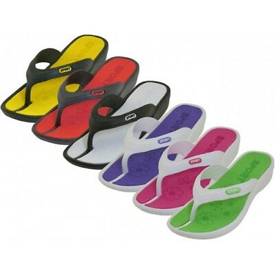 New Women/Juniors Water Flip Flops Sport White/Pink Perfect