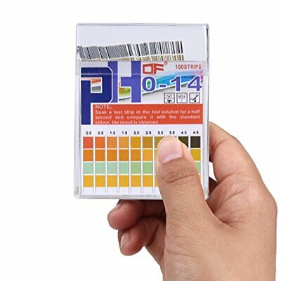 Ph Test Strips 0-14 0.5 Accuracy 100ct Esee Ph Strips Ph Test Paper To Test D...