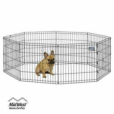 MidWest Homes for Pets Folding Metal Exercise Pen / Pet