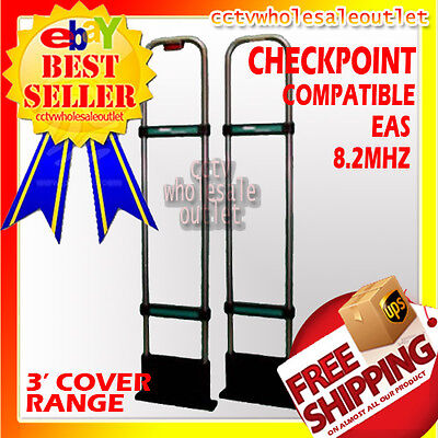 Checkpoint Compatible 8.2mhz Eas Securityantenna Anti Theft-made In Usahard Tag