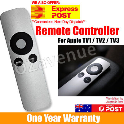 Newly graded Universal Infrared Remote Control Compatible For Apple TV2/TV3 AU