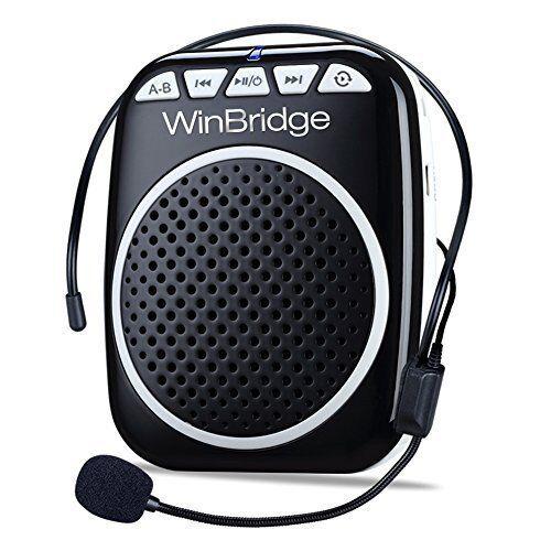 WinBridge Original Voice Amplifier Headset WB001 Microphone Speaker Teaching NEW