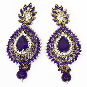 Indian earrings ebay indian chandelier earrings mozeypictures Image collections