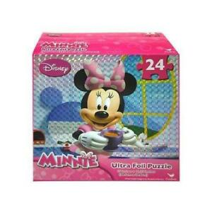 Minnie Mouse Bowtique 24 Piece Ultra Foil Puzzle
