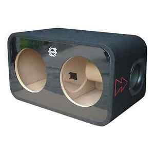 "BASSWORX REFERENCE 10"" DUAL SUBWOOFER ENCLOSURE (RP210RG-FF)"