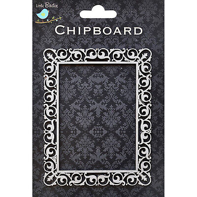 CHIPBOARD CADRE RECTANGLE 115 X 90  MM NEUF SCRAPBOOKING DECORATION