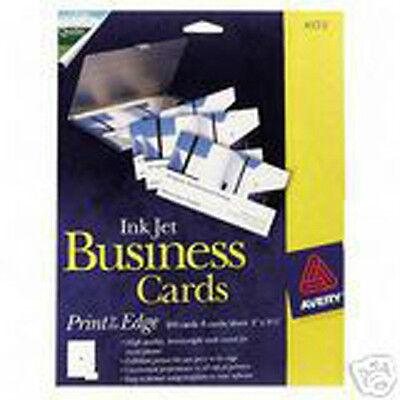 Avery Inkjet Glossy Photo (Avery 8373 Glossy Photo inkjet 320 Business Cards Bulk Pack. No)