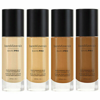 BareMinerals BarePro Performance Wear Liquid Foundation *choose your shade* 1oz