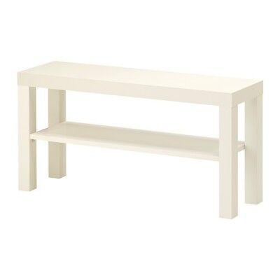 Tv-bank (IKEA LACK TV-Bank in weiß; (90x26cm) Fernseher Bank TV-Tisch Wohnzimmerbank)