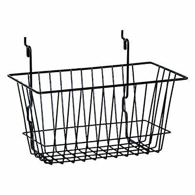 Kc Store Fixtures A03009 Basket Fits Slatwall Grid Pegboard 12 W X 6 D X 6...