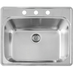 Looking for a gently used stainless steel kitchen sink