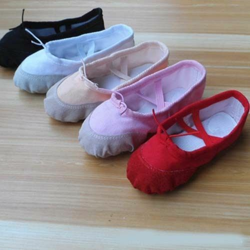 Womens Girls Comfort Boat Shoes Flats Ballet Dancing Balleri