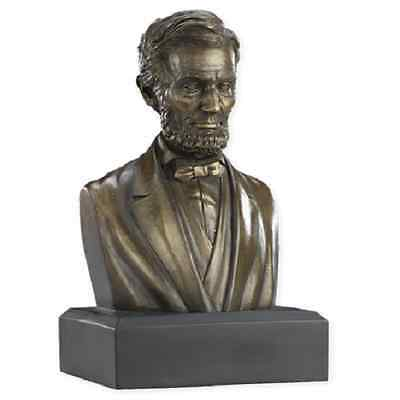 President Abraham Lincoln Bust Statue Historical Figure Sculpture