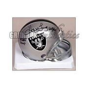 Raiders Mini Helmet