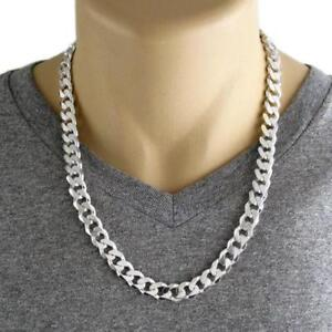 Stainless Steel 7mm / 5mm Silver Chunky Cuban Chain (Waterproof)