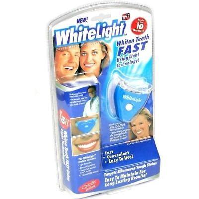 KIT TRATTAMENTO SBIANCANTE DENTI WHITELIGHT E LAMPADA PLASMA UV TARTARO GEL DSI