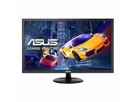 "NEW! Two ASUS VP228HE Gaming Monitors 21.5"" FHD (1920x1080) 1ms Flicker Free + free CEX £30 voucher"