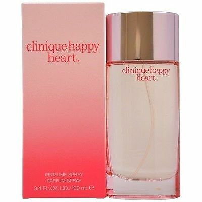 CLINIQUE HAPPY HEART FOR Women 3.4 oz Perfume Spray NEW IN BOX SEALED  on Rummage