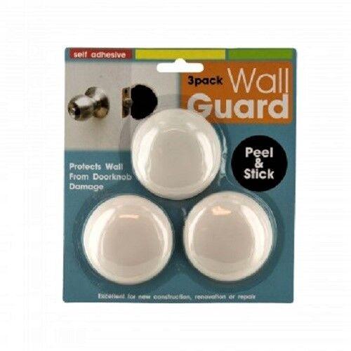 3 pc door knob wall shield round