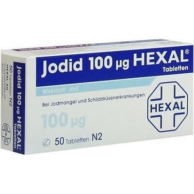 JODID 100µg HEXAL JOD TABLETTEN 50ST 3106006