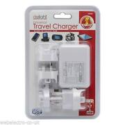 4 Port USB Mains Charger