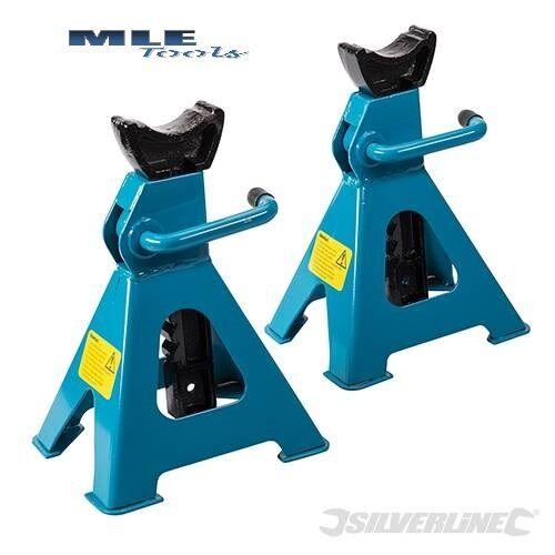 Silverline axle stands 3 6 Tonne 2 piece variants automotive motorsport