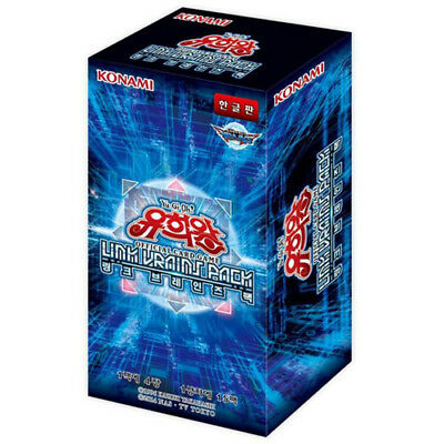 "Yugioh Cards ""Link Vrains Pack"" Booster Box (15 Pack) / Korean Ver"