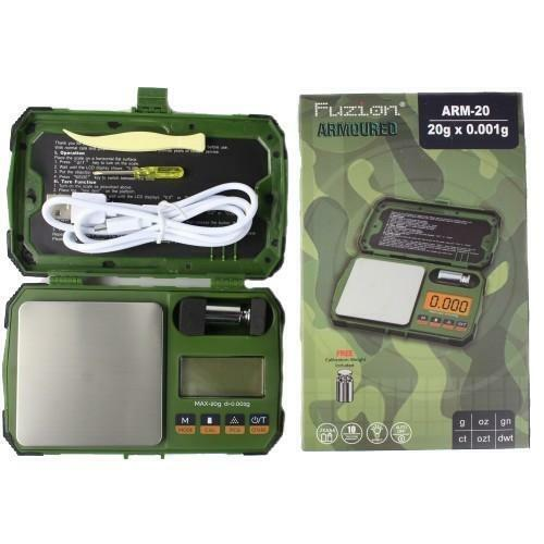 FUZION  ARMOURED ARM-20 - 20g x 0.001g Professional Digital Mini Scale
