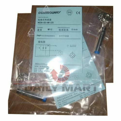 New In Box CONTRINEX ND8-S3-M12S Proximity Switch Sensor