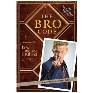 NEW The Bro Code - Stinson, Barney/ Kuhn, Matt