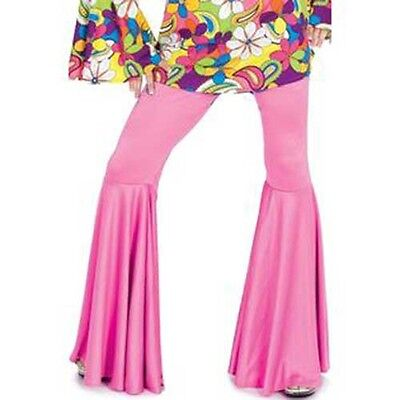 Hippie Pants for Women Black, Pink & Purple 70' Disco Go-Go New by Funny Fashion - 70 Disco Fashion